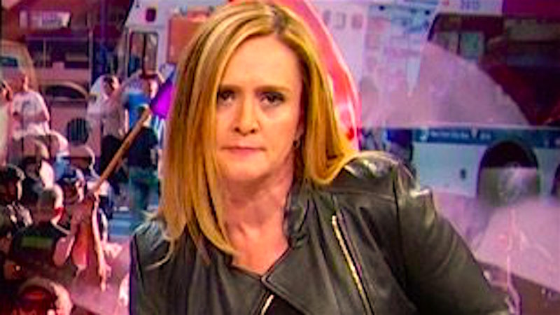 The only thing better than the 15-hour gun control filibuster was Samantha Bee live-tweeting it.