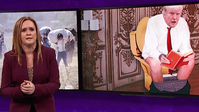 Samantha Bee proves why Trump's 'travel ban' is actually a Muslim ban.
