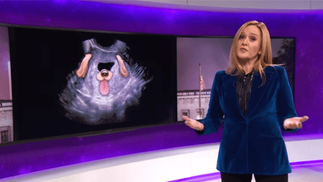 Samantha Bee slams Ohio's 'illegal as crack' abortion bill.