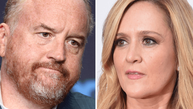 Sam Bee addresses Louis C.K. and why you can't condemn 'perverts' just when it's convenient.