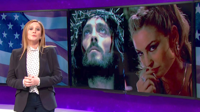 Samantha Bee finds out that some of Ted Cruz's biggest fans are total monsters.