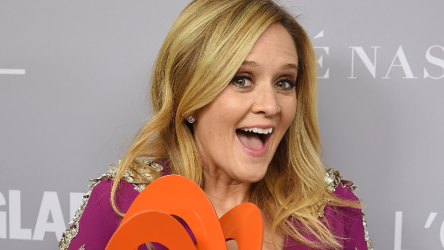 Samantha Bee absolutely desperate to win Trump's Dishonest and Corrupt Media Awards.