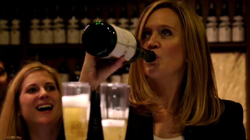 Samantha Bee partied with Trump supporters and somehow managed to be civil to them.
