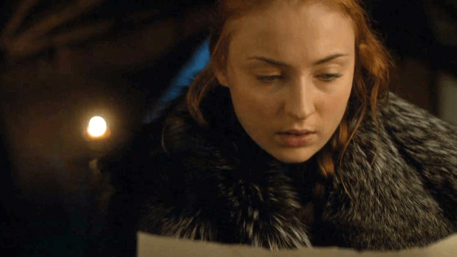 A Photoshop master figured out what Sansa wrote in that mysterious letter in 'Game of Thrones.'