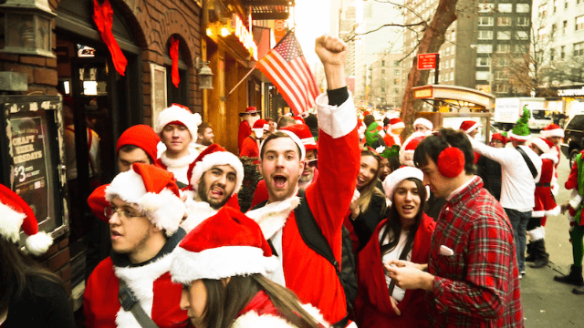 Haters react to SantaCon 2016, the horrible holiday bar crawl that refuses to die.