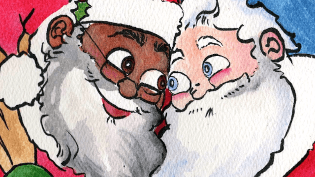 'Santa's Husband' is the children's book that will change Christmas forever.
