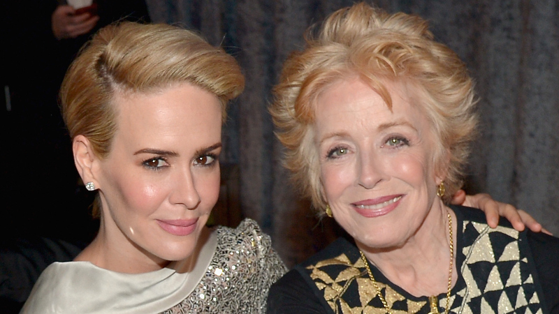 Sarah Paulson and Holland Taylor are officially dating, and yes, there's a 32-year age difference.