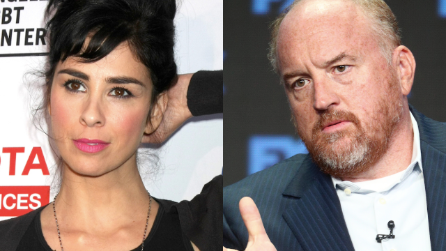 Sarah Silverman apologizes for Louis CK comments