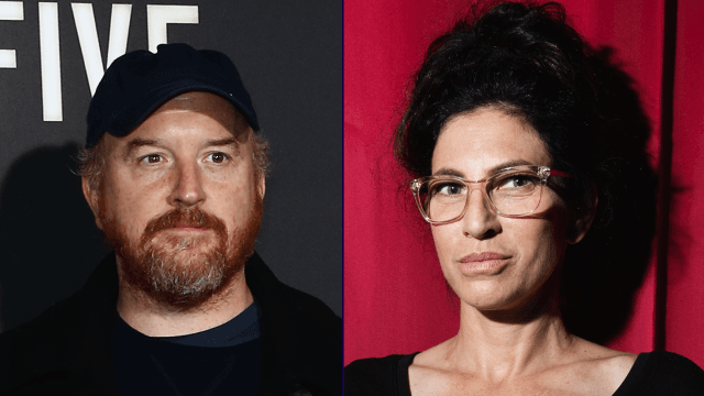 Sarah Silverman dating Louis CK
