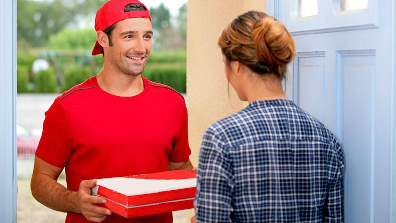 dating a pizza guy