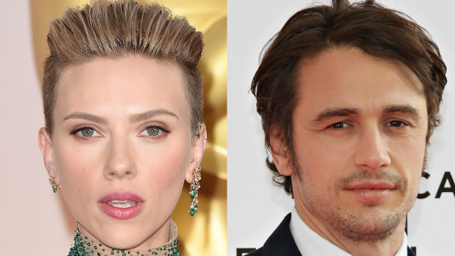 Scarlett Johansson calls out James Franco during Women's March speech: 'I want my pin back.'