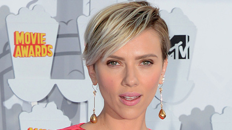 Scarlett Johansson somehow makes stoning people to death sound sexy in new reading of the bible.