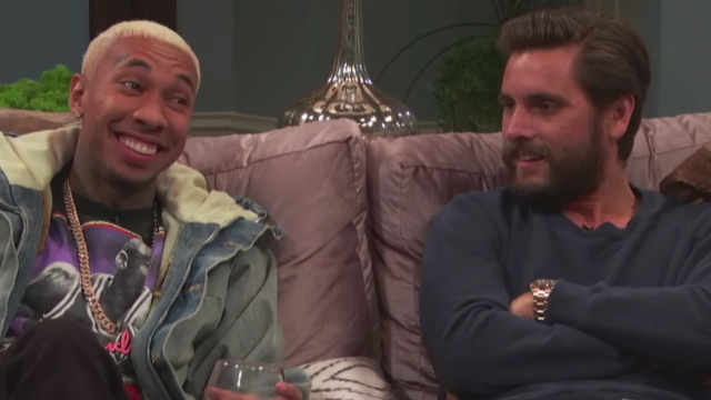 Scott Disick and Tyga play an awkward game of 'F***, Marry, Kill' about the Kardashians.