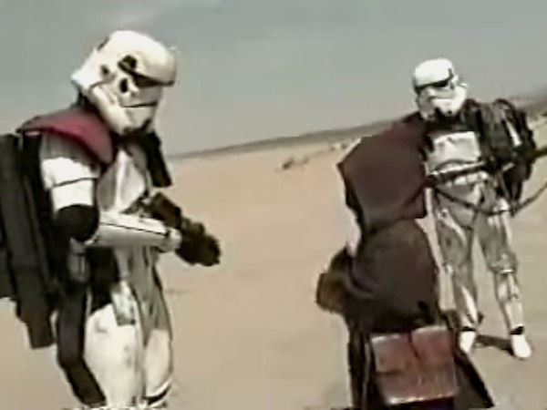 """Friday Night Movie: """"TROOPS,"""" the COPS/Star Wars parody that launched modern fan films."""