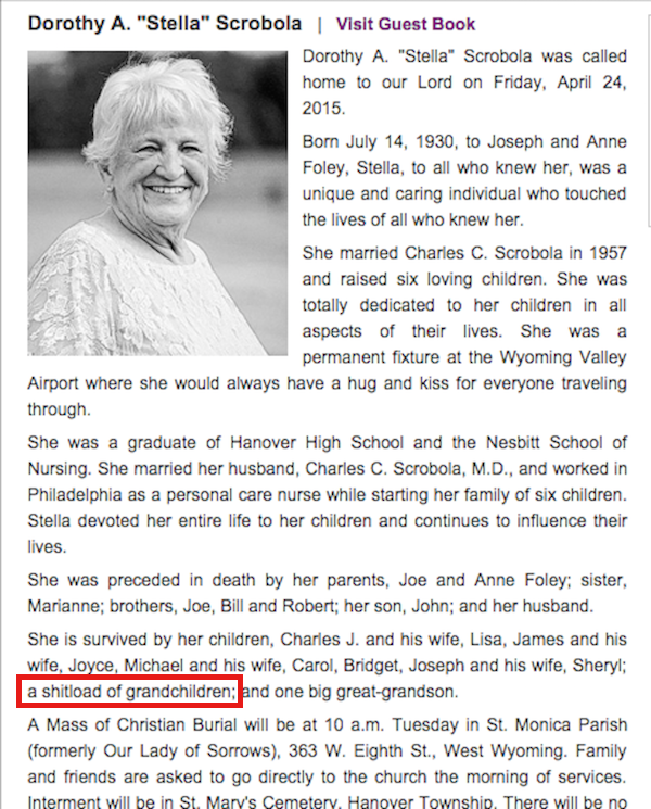 13 Charmingly Funny Obituaries That Absolutely Killed