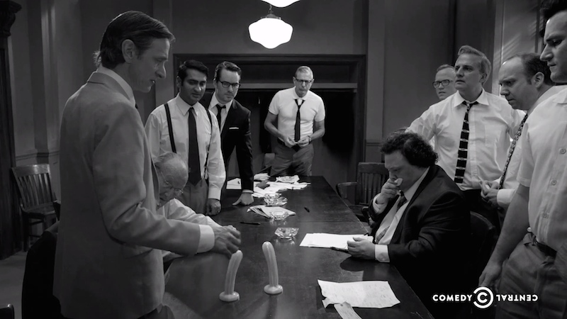 12 Angry Men decide who is f*ckable enough to appear on TV in the best parody I've ever seen.
