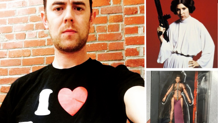 "Colin Hanks and his 4-year-old daughter say they want more strong women in ""Star Wars."""