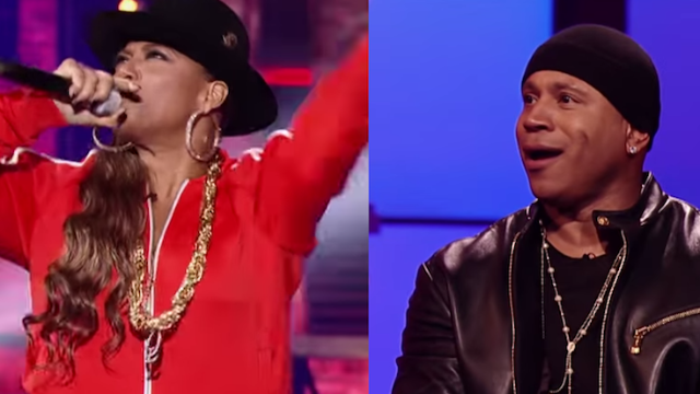 "Queen Latifah slayed on ""Lip Sync Battle"" when she did a classic song by the host, LL Cool J."