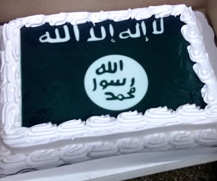 Walmart won't sell confederate flags...but will they bake you an ISIS cake? Yes.