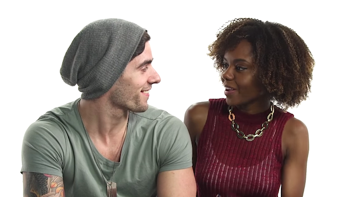 Interracial couples sat down for a candid discussion about stereotypes. Of course someone brought up penises.