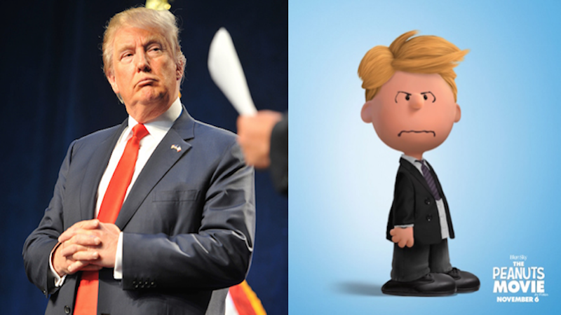 Donald Trump: Making Peanuts Great Again.