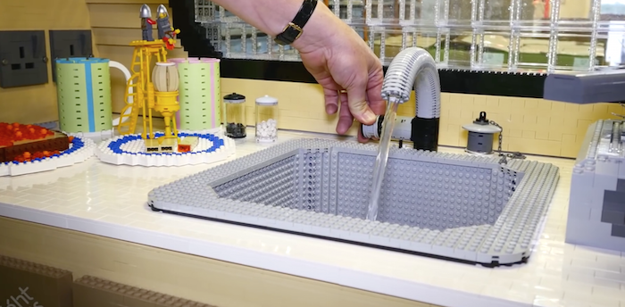 Someone made a mobile home out of 215,158 Legos and it makes your apartment look downright comfortable.