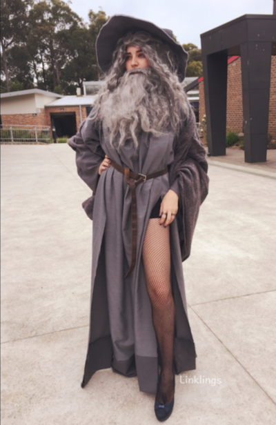 Internet goes crazy for 'Sexy Gandalf Costume.'