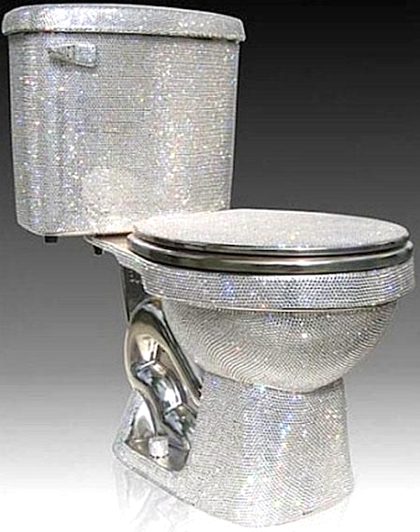 "This party potty is where Michael Jackson wrote ""Beat It."""
