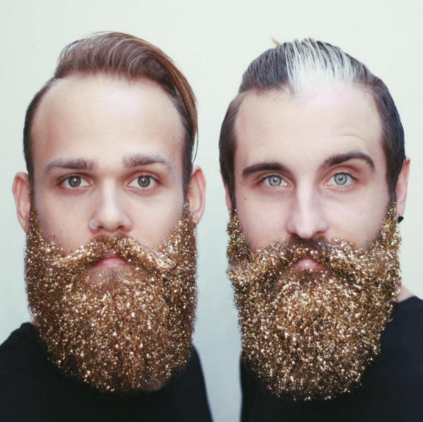 All that glitters is not gold. Sometimes, it's beards.
