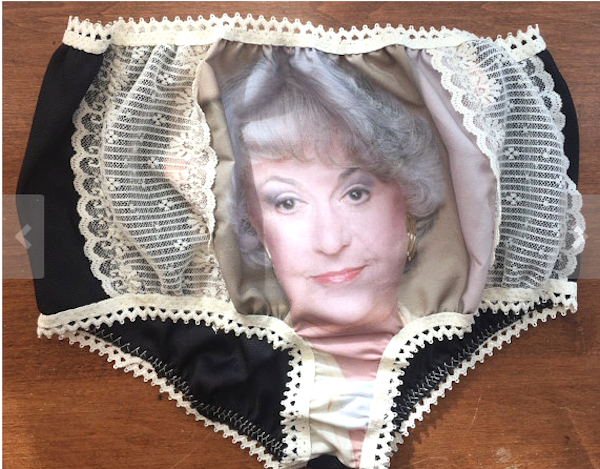 'Golden Girls' granny panties are the (real) holiday gift that says 'thank you for being a friend.'