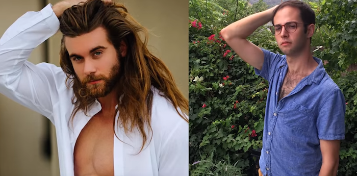 Regular guy tries to get a date by recreating poses of sexy Instagram hottie.