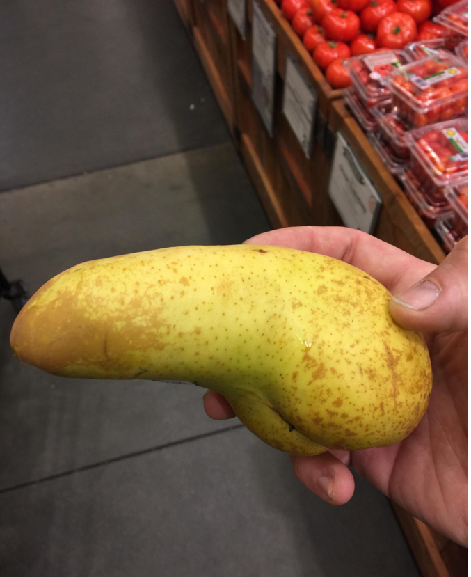 And you thought cucumbers were the most erotic thing in the produce section.