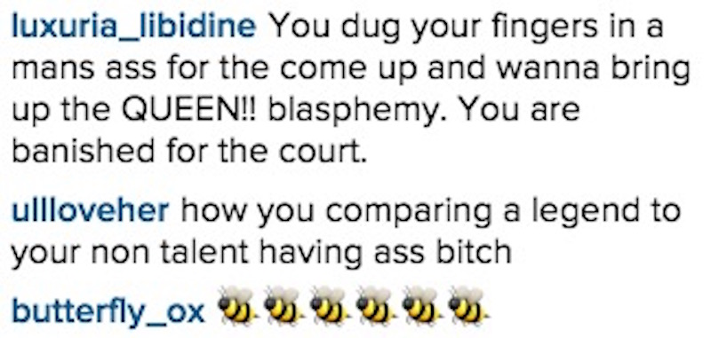 Beyoncé fans destroyed Amber Rose for even saying the sacred name when discussing double standards.