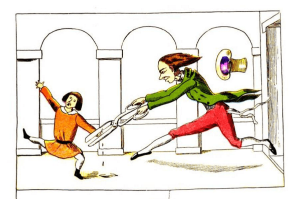 10 drawings from old children's books so disturbing, you'll be creeped out as an adult.