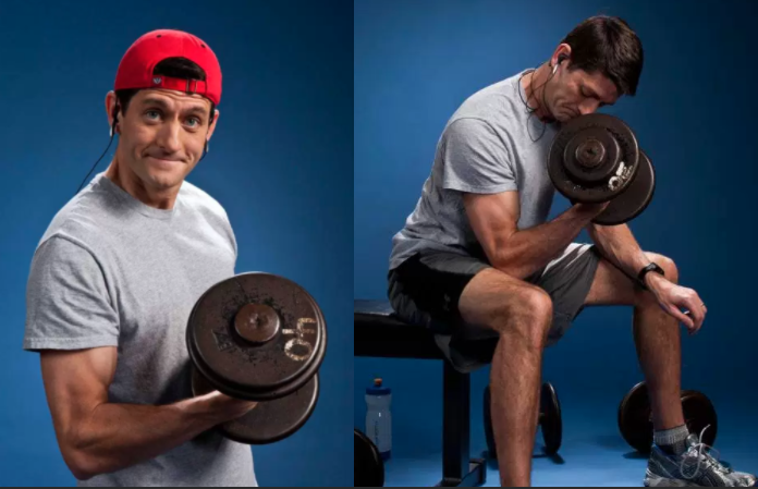 Paul Ryan's Border Wall Is An Absolute Trashcan Fire Of Awkwardness, And It's Great
