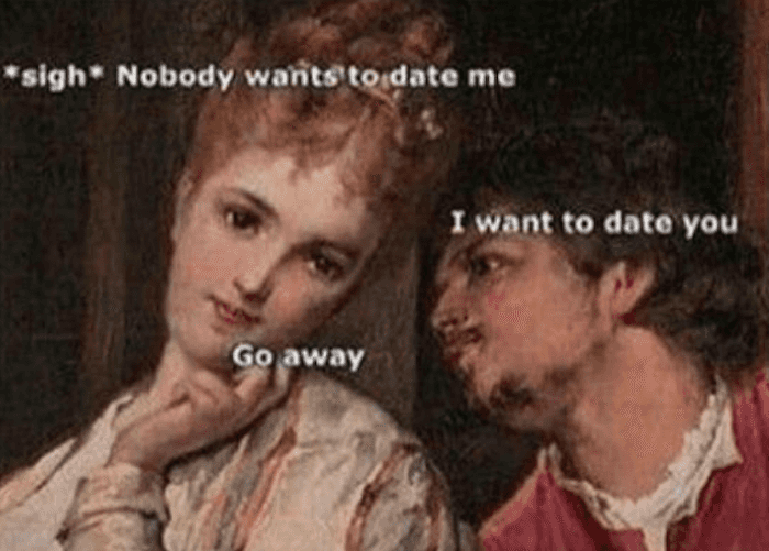 23 memes for women who are over online dating.
