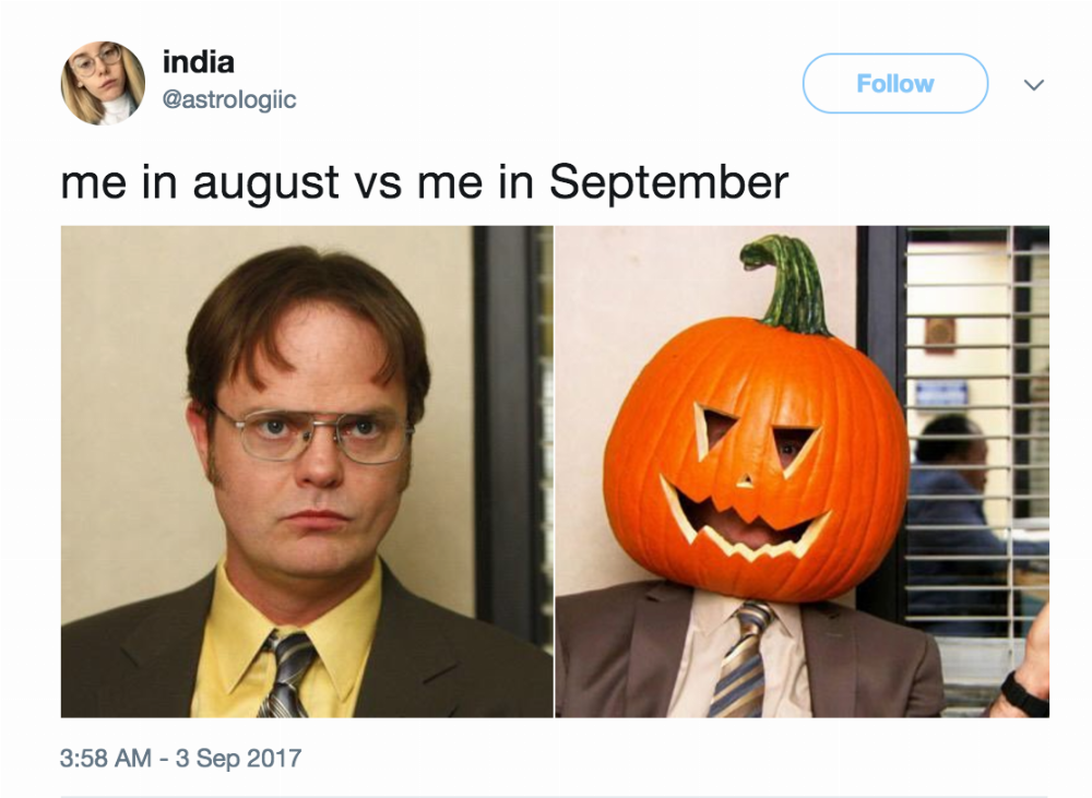 18 Memes Anyone Who Loves Fall Will Love Like They Love Pumpkin