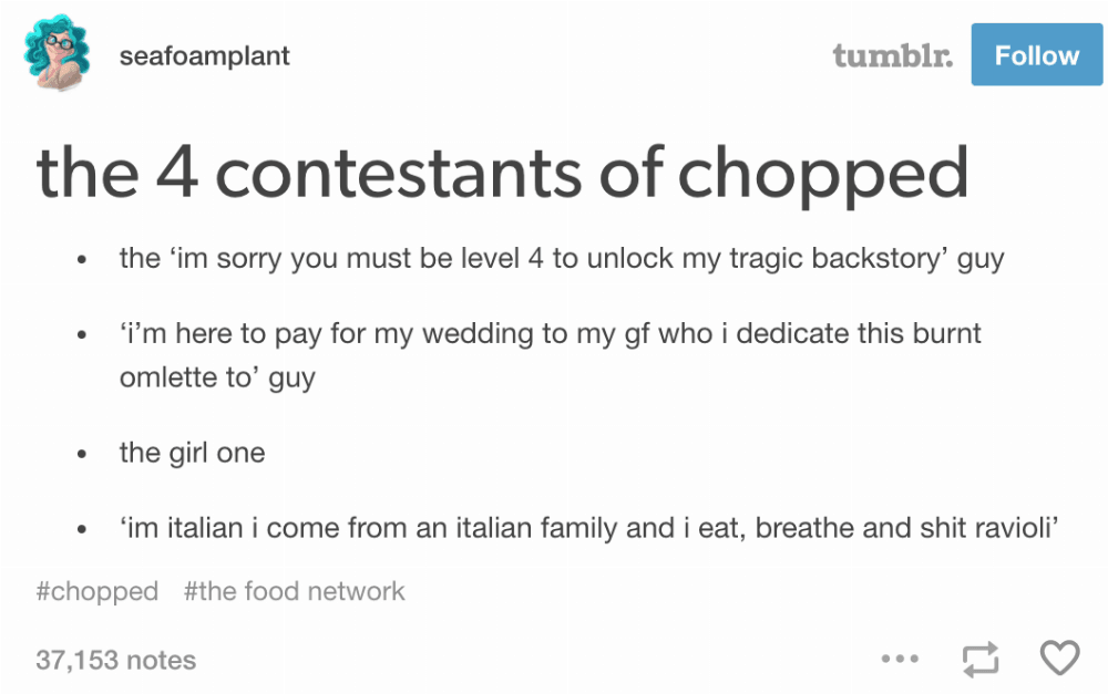 Image result for memes about chopped