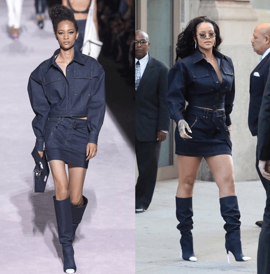 This Twitter thread of Rihanna pulling off ugly outfits is pure beauty.