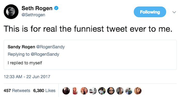 21 times Seth Rogen and his mom were the funniest duo on Twitter.