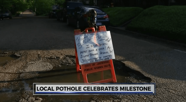 Pothole celebrates it's birthday.