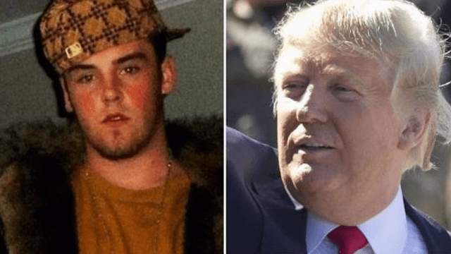 Memes turn on Donald Trump as Scumbag Steve says Donald Trump is the true scumbag.