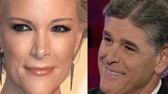 Sean Hannity blasts Megyn Kelly on Twitter, accuses her of (gasp!) being a Hillary supporter.