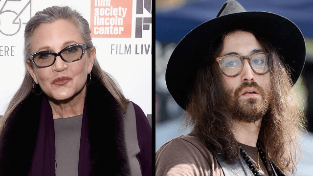 Sean Lennon releases a never-before-heard song that he wrote with Carrie Fisher.