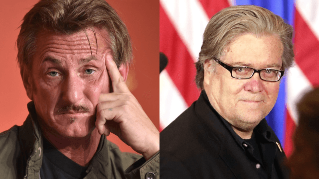 Sean Penn worked with 'toxic narcissist' Steve Bannon in the '90s. He is not a fan.