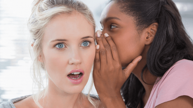 Here's proof you should never share secrets with friends.