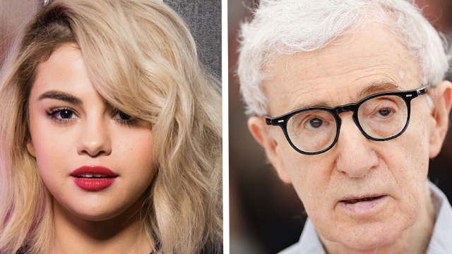 Selena Gomez's mother is telling strangers on Instagram she's unhappy her daughter worked with Woody Allen.
