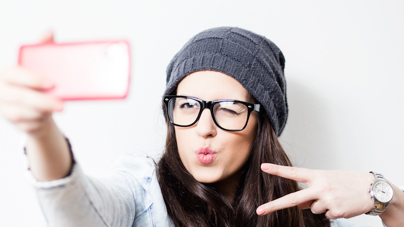 Here's why you look infuriatingly older when you take selfies.