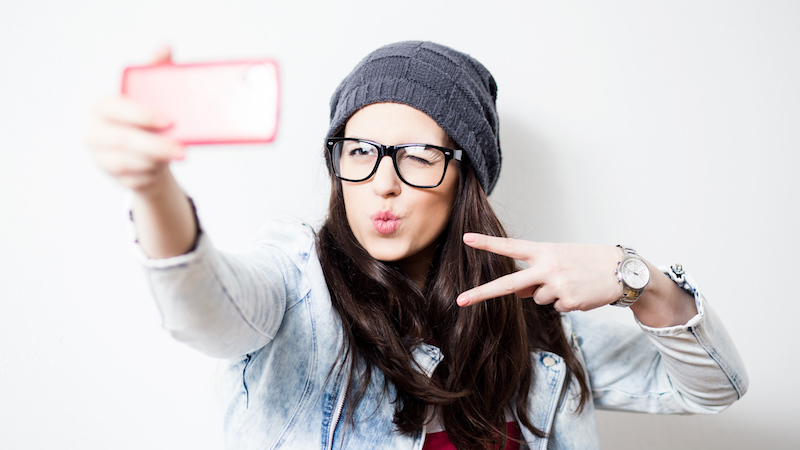Excessive selfies may actually make your face age faster, no matter how immature you look taking them.