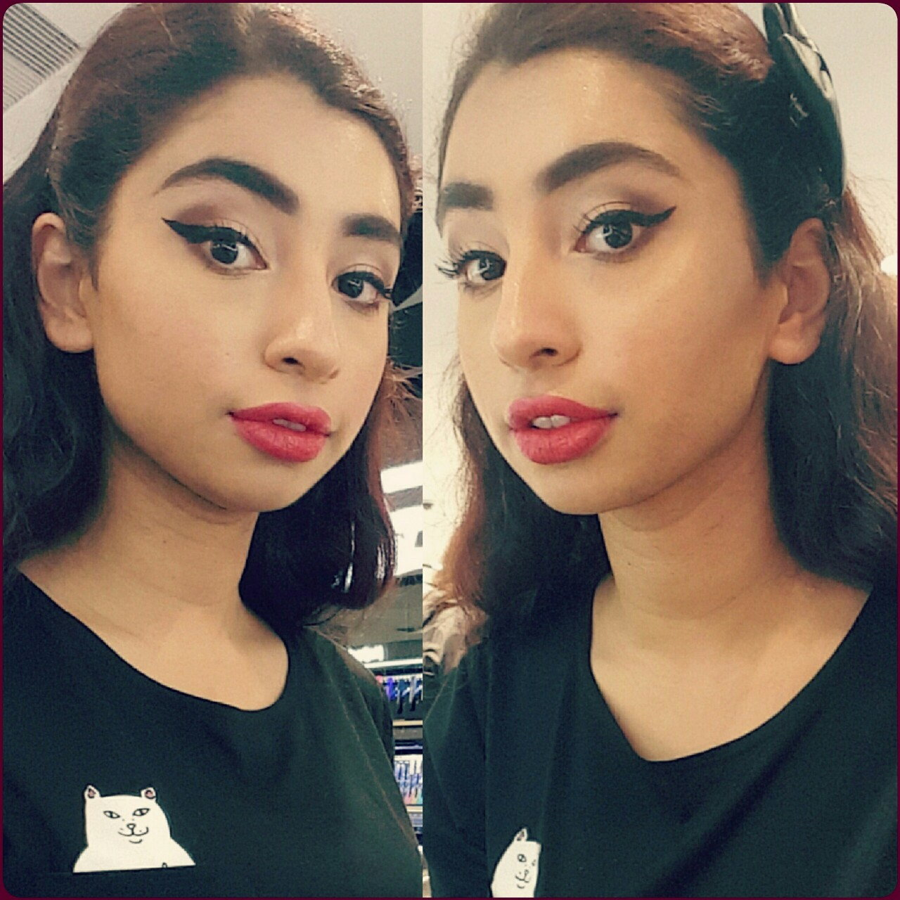 This is what happens when you ask a Sephora employee for a 'light, casual' makeover.